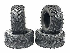 2 FRONT 25x8-12 and 2 Rear 25X10-12 ATV MUD CRUSHER TIRES 25x8x12 25x10X12