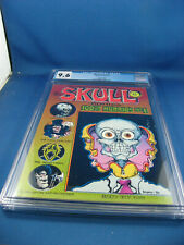 SKULL COMICS 1 CGC 9.6 HIGHEST GRADED 2ND EDITION 1970