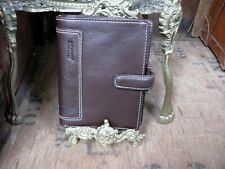*NEW* Filofax Holborn Delux Buffalo Leather - Brown - Pocket Organiser Planner