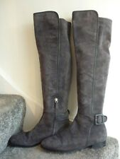 LK Bennett thigh high grey suede boots size 40 (6-7) very good condition