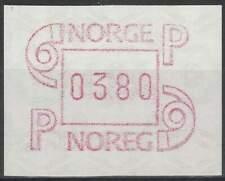 Noorwegen postfris automaatzegels 1986 MNH A3 (10)