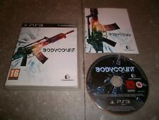 JEU PS3 PAL (import UK): BODYCOUNT - Complet TBE