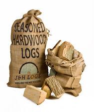 "Net British Seasoned Hardwood Firewood ""Ready to Burn"" 13 kilos"