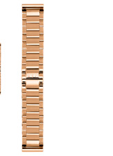 Interchangeable Watch Strap - ROSE GOLD STAINLESS STEEL 20mm RRP $55