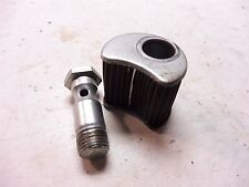 1982 Yamaha XS650S YM213B. Engine clutch cover oil filter bolt