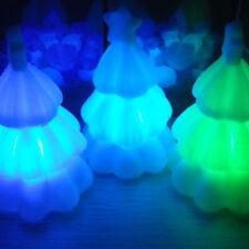 LED Night Light Christmas Tree Shape Colorful Change Kid's Bedroom Table Lamp