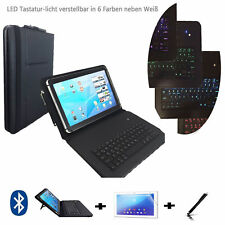 """Etui Starter set für Samsung Galaxy Tab 2 P5110 Keyboard Hülle 3in1 10.1"""" LT1"""
