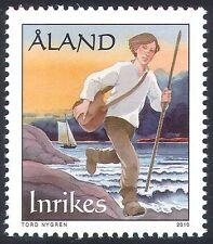 Aland 2010 Early Mail Delivery/Postal Transport/Sailing Ship/Transport 1v n41586