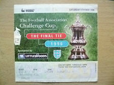 TICKET: FA CUP FINAL 1996- LIVERPOOL v MANCHESTER UNITED