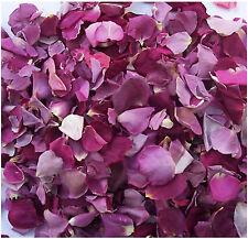 24CUPS FREEZE DRIED ROSE PETALS - PURPLE - WEDDINGS ROSE PETAL CONFETTI
