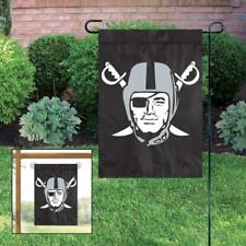 Oakland Raiders Embroidered Garden Flag Window Flag NEW USA SHIPPER