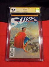 ALL STAR SUPERMAN # 1 CGC SS 9.6 HENRY CAVIL MOVIESTAR JUSTICE LEAGUE JAN2006 DC