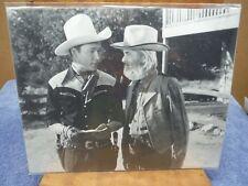Roy Rogers Gabby Hayes photo print 8 x 10
