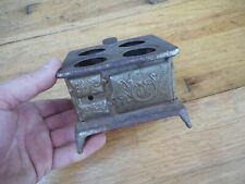 "Vintage Metal Salesman Sample Cast Iron Toy Stove "" OK """