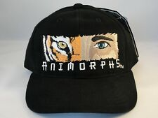 Kids Youth Size Animorphs Vintage Snapback Cap Hat Black