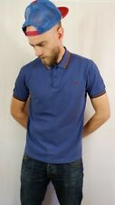 Fred Perry Tipped Polo Shirt Size Medium