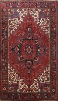 Excellent Geometric Traditional Area Rug Hand-Knotted Oriental Wool Carpet 8x11