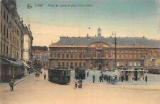 LIEGE - Palais de Justice et Place Saint-Lambert