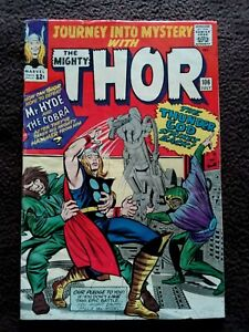 JOURNEY INTO MYSTERY WITH THOR #106 MARVEL SILVER AGE COMIC 1964 1ST PRINTING
