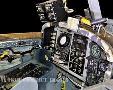 USAF Martin B-57B Canberra Bomber Rear Cockpit #1 8x10 Color Photo