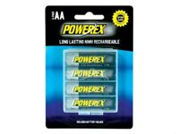 Maha MH-AA2600 - Powerex 4 x AA Size 2600mAh Re-Chargeable Batteries