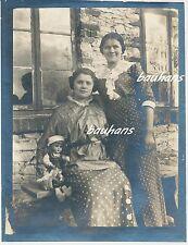 Polen Koniecpol-Schlesien-schöne Frauen 1915 (c390)