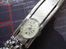 vintage belforte mechanical waych, rare needs crystal,,,, sold as is