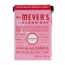 Mrs. Meyer's Clean Day Candle Pack of 2 Limited Edition Peppermint 4.9 oz