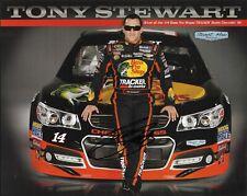 2013 Tony Stewart Bass Pro Shops Signed Auto 8x10 Post Hero Card