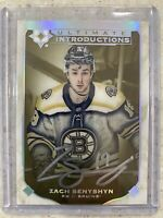 2019-20 ULTIMATE INTRODUCTIONS ZACH SENYSHYN ROOKIE BRUINS #UI-64 AUTO SSP