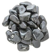 "1 lb Hematite Tumbled Stones - Grade 1 - Small - 0.75"" to 1.25"" Avg."