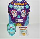 SQUISHUMS SKULL SERIES SLOW RISE SQUISHY BLUE SINGLE CHALCHI LOOSE