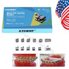 Dental Ortho Brackets Brace Self Ligating Roth 0022 345 Hook Buccal Tubes Mono