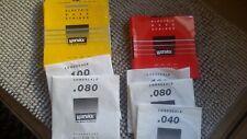 Warwick Electric Bass Strings rojo 040 080 100 amarillo 080 y 100 original OVP