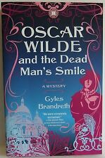 Oscar Wilde and the Dead Man's Smile Gyles Brandreth Mystery crime fiction book
