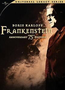 Boris Karloff Frankenstein DVD 75th Anniversary Edition 2 Disc Remastered New
