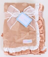 LOT 2x BABYKINS CUTE DOUBLE SIDED BABY BLANKET , Retails $29.99