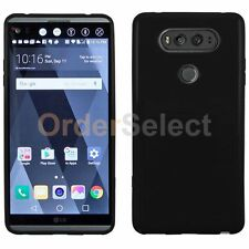 HOT! Genuine Ultra Slim Protector Candy Glossy Phone Case Cover for LG V20 Black