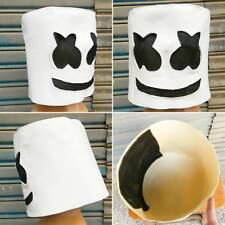 MarshMello DJ Mask Full Head Helmet Halloween Cosplay Bar Music Party Props /A0