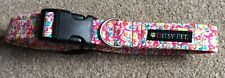 Ditsy Pet Dog Collar - Red Floral