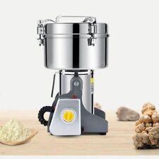 2500g 220V Electric Herb Grinder Grain Milling Powder Machine Home Commercial