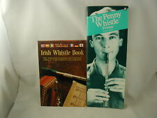 Penny Whistle Primer Peter Pickow Waltons Tin Irish Whistle 2 Music Books