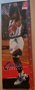 """Rare 1993 Costacos Charles Barkley Suns  Door Poster 27"""" x 74"""" Vintage Classic"""