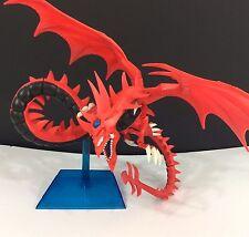 "1996 Yu-Gi-Oh SLIFER SKY DRAGON Kazuki Takahashi Red Figure God Model 18"" Stand"