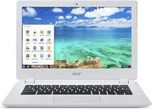 """CB5-311 Acer Chromebook 13"""" 4GB 16GB 2.10GHz Nvidia Tegra K1 Chrome OS White"""