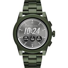 Sealed Michael Kors Men's Access Grayson Olive Touchscreen Smart watch MKT5038