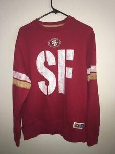 San Francisco 49ers Sweater Size L NFL Team Apparel