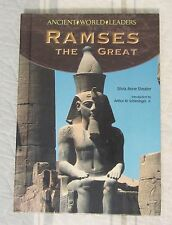 Ancient World Leaders: Ramses the Great by Silvia Anne Sheafer 2008 Hardcover