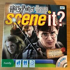 Harry Potter Scene It - The Complete Cinematic Journey | Family DVD Board Game
