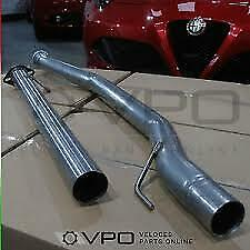 ALFA ROMEO GIULIETTA 1750 2.0 JTDM STAINLESS STEEL SPORTS Centre EXHAUST 55.0198